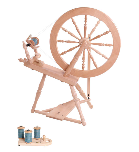 Picture of Elizabeth Spinning Wheel 2 Lacquered