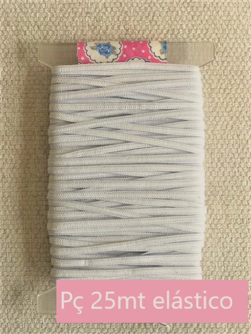 Picture of Elastic 6 mm - White