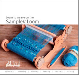 Learn to weave on the SampleIt Loom
